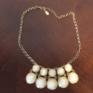 Gold colored necklace